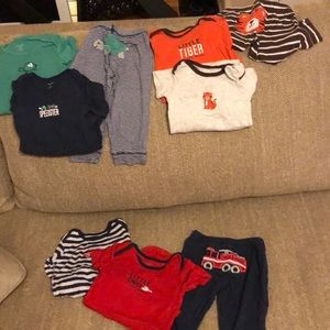 Carters 12 month outfit lot